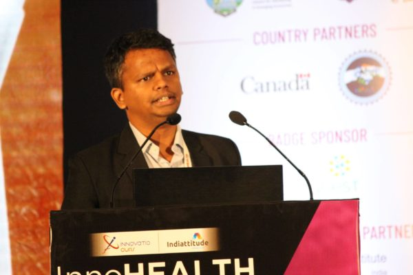 Saiprasad Poyarekar at InnoHEALTH 2019