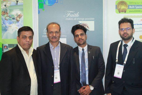 Sanjay Gaur, Ravin Sanghvi and Rohit Chaudhary at InnoHEALTH 2019