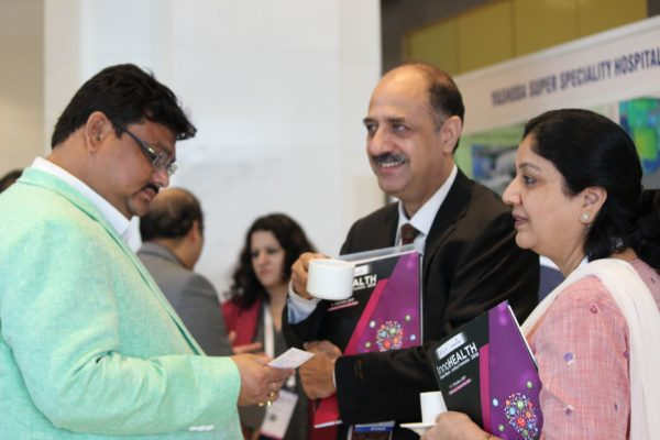 Satya Dash and Dr. Ravi Gaur at InnoHEALTH 2019