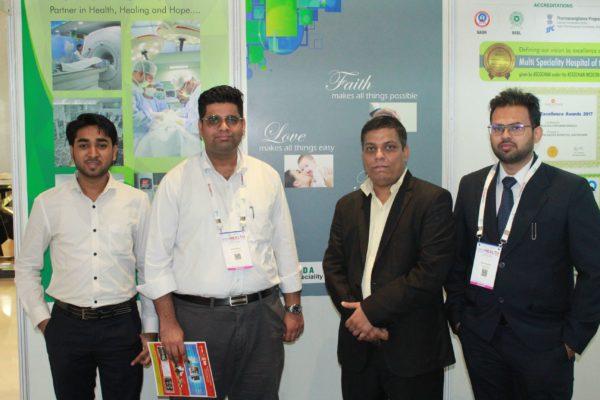 Sayyam Jain, Abhinav Mathur, Sanjay GAur and Rohit Chaudhary at InnoHEALTH 2019