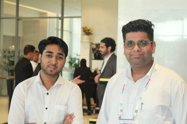 Sayyam Jain and Abhinav Mathur at InnoHEALTH 2019