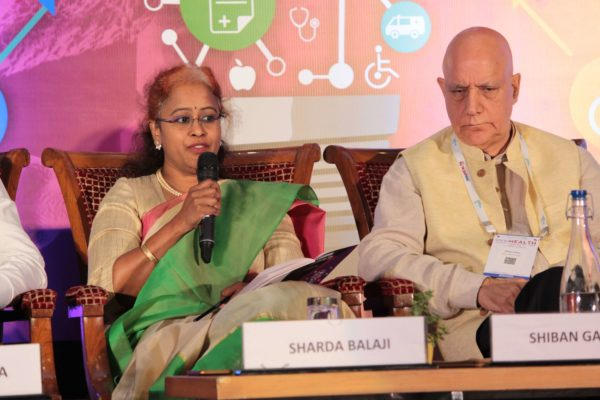 Sharda Balaji & Dr. Shiban Ganju, Session 7 at InnoHEALTH 2019