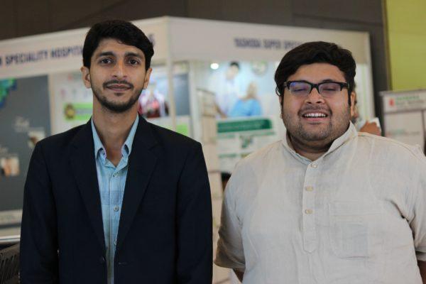 Shivank Khandelwal and Ritesh Aggarwal at InnoHEALTH 2019