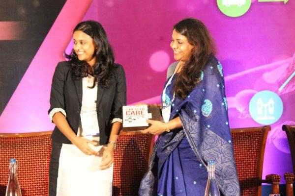 Shriya Sethi & Dr. Debleena Bhattacharya at Session 4 InnoHEALTH 2019