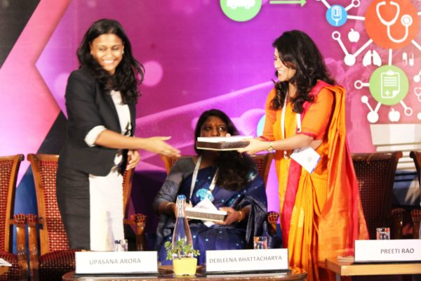 Shriya Sethi & Preeti Rao at Session 4 InnoHEALTH 2019