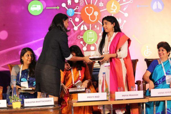 Shriya Sethi & Priya Prakash at Session 4 InnoHEALTH 2019