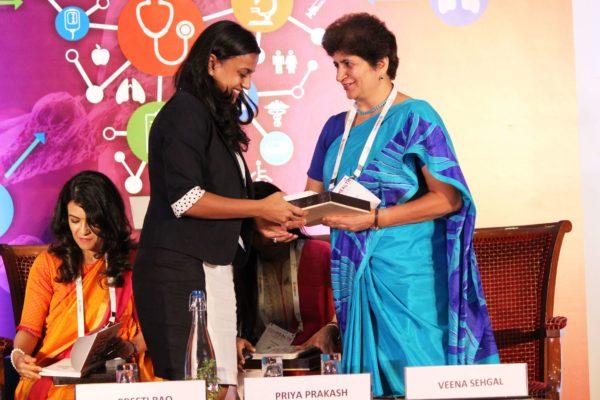 Shriya Sethi & Veena Sehgal at Session 4 InnoHEALTH 2019
