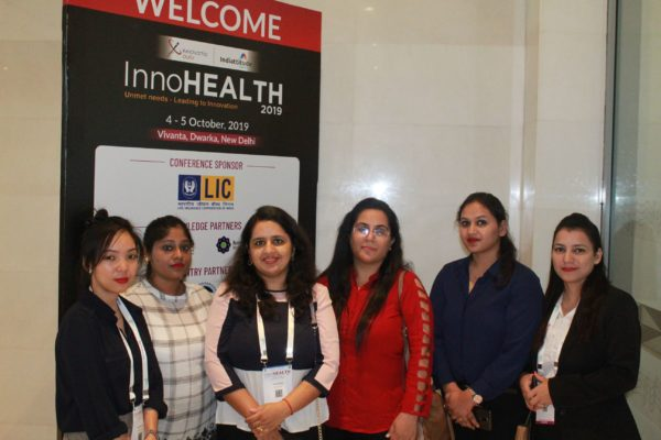 Students at InnoHEALTH 2019