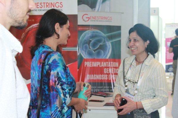 Tanya Spisbah and Veena Sehgal at InnoHEALTH 2019