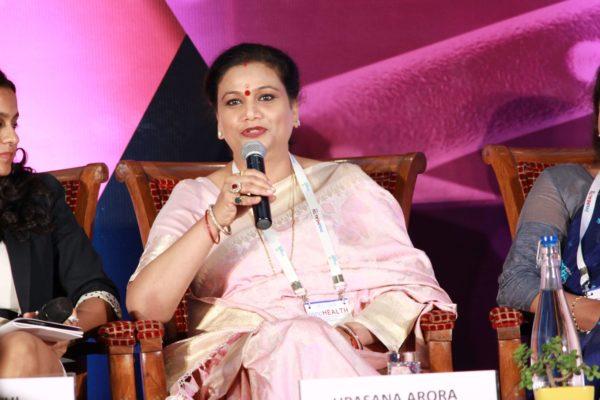 Upasana Arora at Session 4 InnoHEALTH 2019