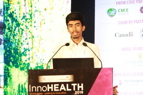 Yogesh M, Session 5 at InnoHEALTH 2019