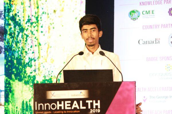 Yogesh M, Session 5 at InnoHEALTH 2019